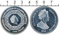 Изображение Монеты Великобритания Тристан-да-Кунья 1 крона 2006 Серебро Proof-