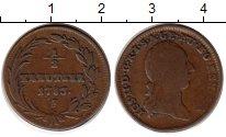 Изображение Монеты Австрия 1/2 крейцера 1783 Медь VF