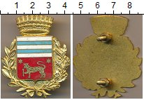 Изображение Монеты Италия Полицейский знак 0 Латунь UNC-