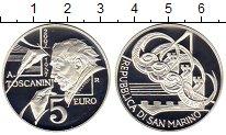 Изображение Монеты Сан-Марино 5 евро 2007 Серебро Proof