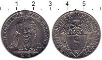 Изображение Монеты Ватикан 2 лиры 1942 Никель UNC-