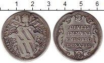 Изображение Монеты Ватикан 1 тестон 1733 Серебро VF