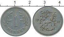 Изображение Монеты Финляндия 1 марка 1928 Медно-никель XF