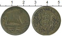 Изображение Монеты Эстония 1 крона 1934 Латунь XF