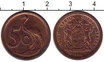 Изображение Монеты ЮАР 5 центов 1994 Бронза XF