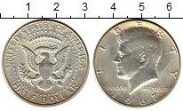 Изображение Монеты США 1/2 доллара 1967 Серебро UNC-