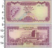 Изображение Банкноты Йемен 100 риал 0  UNC-
