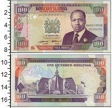 Изображение Банкноты Кения 100 шиллингов 1995  UNC