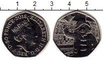 Набор монет Великобритания 50 пенсов Медно-никель 2019 UNC