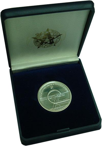 Изображение Монеты Кабо-Верде 10 эскудо 1985 Серебро Proof- 10 - летие  независи