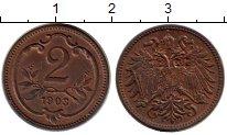 Изображение Монеты Австрия 2 геллера 1903 Бронза UNC-