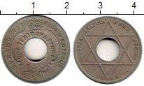 Изображение Монеты Великобритания Западная Африка 1/10 пенни 1908 Медно-никель VF