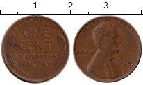 Изображение Монеты США 1 цент 1941 Медь XF-