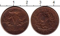 Изображение Монеты Колумбия 5 сентаво 1957 Бронза XF