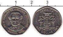 Изображение Монеты Ямайка 1 доллар 1995 Медно-никель XF