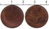 Монета Египет 1/2 миллима Бронза 1917 XF фото