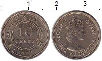 Изображение Монеты Гондурас 10 сентаво 1970 Медно-никель XF
