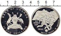 Изображение Монеты Уганда 10000 шиллингов 1994 Серебро Proof-