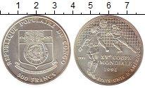 Изображение Монеты Конго 500 франков 1991 Серебро UNC-