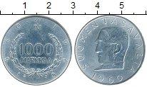 Изображение Монеты Финляндия 1000 марок 1960 Серебро UNC-
