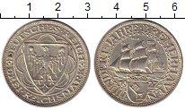 Изображение Монеты Германия Веймарская республика 3 марки 1927 Серебро XF