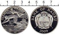 Изображение Монеты Науру 10 долларов 2009 Серебро Proof