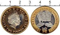 Изображение Монеты Великобритания 2 фунта 2008 Серебро Proof
