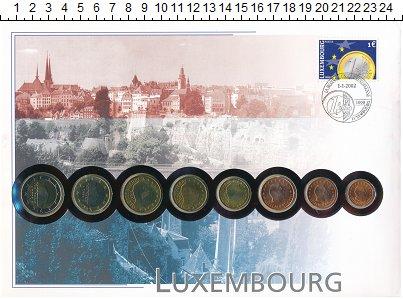 Изображение Подарочные монеты Люксембург Евронабор 2002  UNC- Евронабор Люксембург
