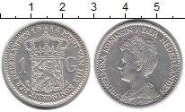 Изображение Монеты Нидерланды 1 гульден 1914 Серебро XF