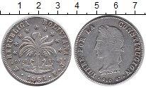 Изображение Монеты Боливия 8 солей 1861 Серебро XF-