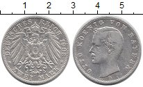 Изображение Монеты Германия Бавария 2 марки 1903 Серебро XF-