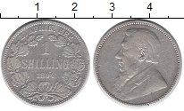 Изображение Монеты ЮАР 1 шиллинг 1894 Серебро VF