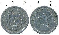 Изображение Монеты Чили 20 сентаво 1932 Медно-никель XF-