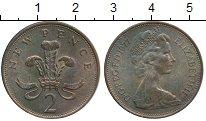 Изображение Монеты Великобритания 2 пенса 1977 Бронза XF