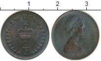 Изображение Монеты Великобритания 1/2 пенни 1977 Бронза XF