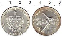 Изображение Монеты Куба 5 песо 1986 Серебро UNC