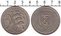 Изображение Монеты Монтсеррат 4 доллара 1970 Медно-никель UNC-