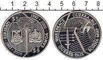 Изображение Монеты Кирибати 5 долларов 2000 Серебро Proof