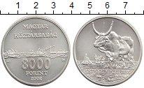 Изображение Монеты Венгрия 3000 форинтов 2002 Серебро UNC-