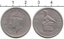 Изображение Монеты Великобритания Родезия 1 шиллинг 1950 Медно-никель XF