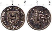 Изображение Монеты Португалия 2 1/2 эскудо 1983 Медно-никель UNC