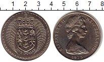 Изображение Монеты Новая Зеландия 1 доллар 1975 Медно-никель UNC-