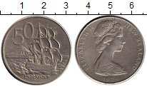 Изображение Монеты Новая Зеландия 50 центов 1979 Медно-никель XF