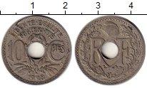 Изображение Монеты Франция 10 сантим 1918 Медно-никель XF