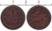 Изображение Монеты Нидерланды 1 цент 1938 Бронза XF