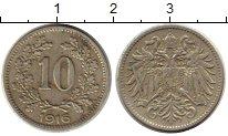 Изображение Монеты Австрия 10 геллеров 1916 Медно-никель XF