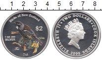 Изображение Монеты Острова Кука 2 доллара 2005 Серебро Proof