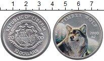 Изображение Монеты Либерия 10 долларов 2000 Серебро UNC
