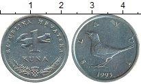 Изображение Монеты Хорватия 1 куна 1993 Медно-никель VF