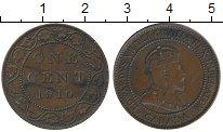 Изображение Монеты Канада 1 цент 1910 Бронза XF